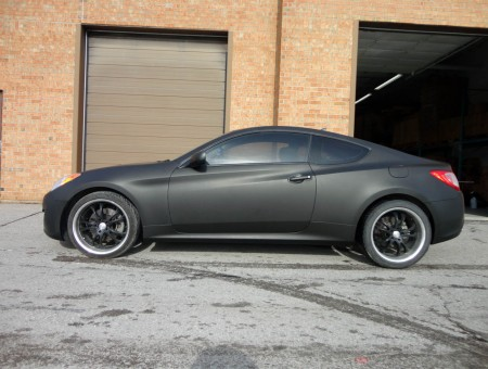 Genesis Coupe Matte Black